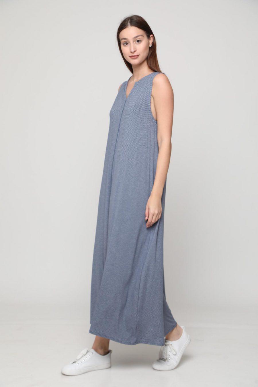 שמלה מונקו כחול
