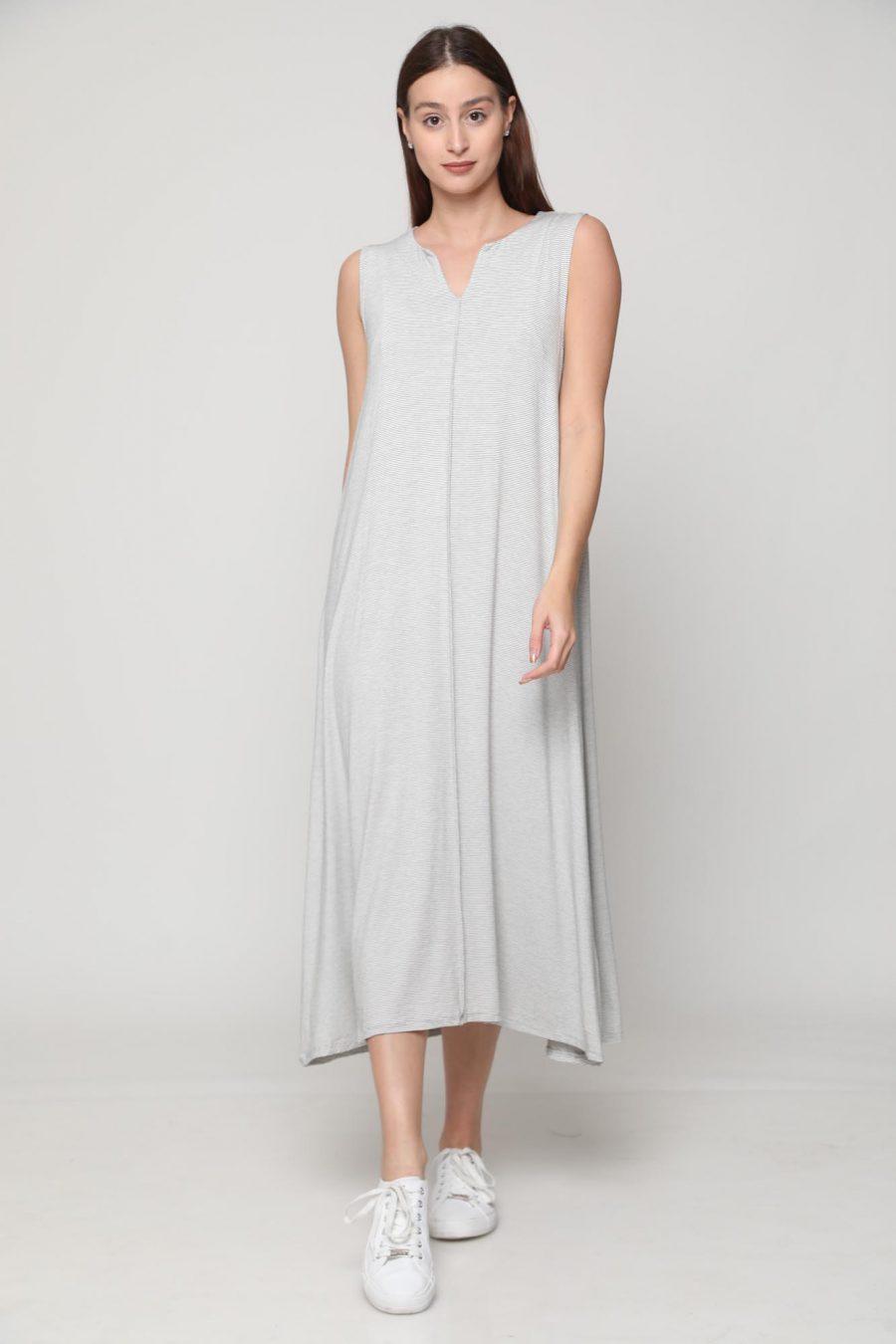 שמלה מונקו לבן