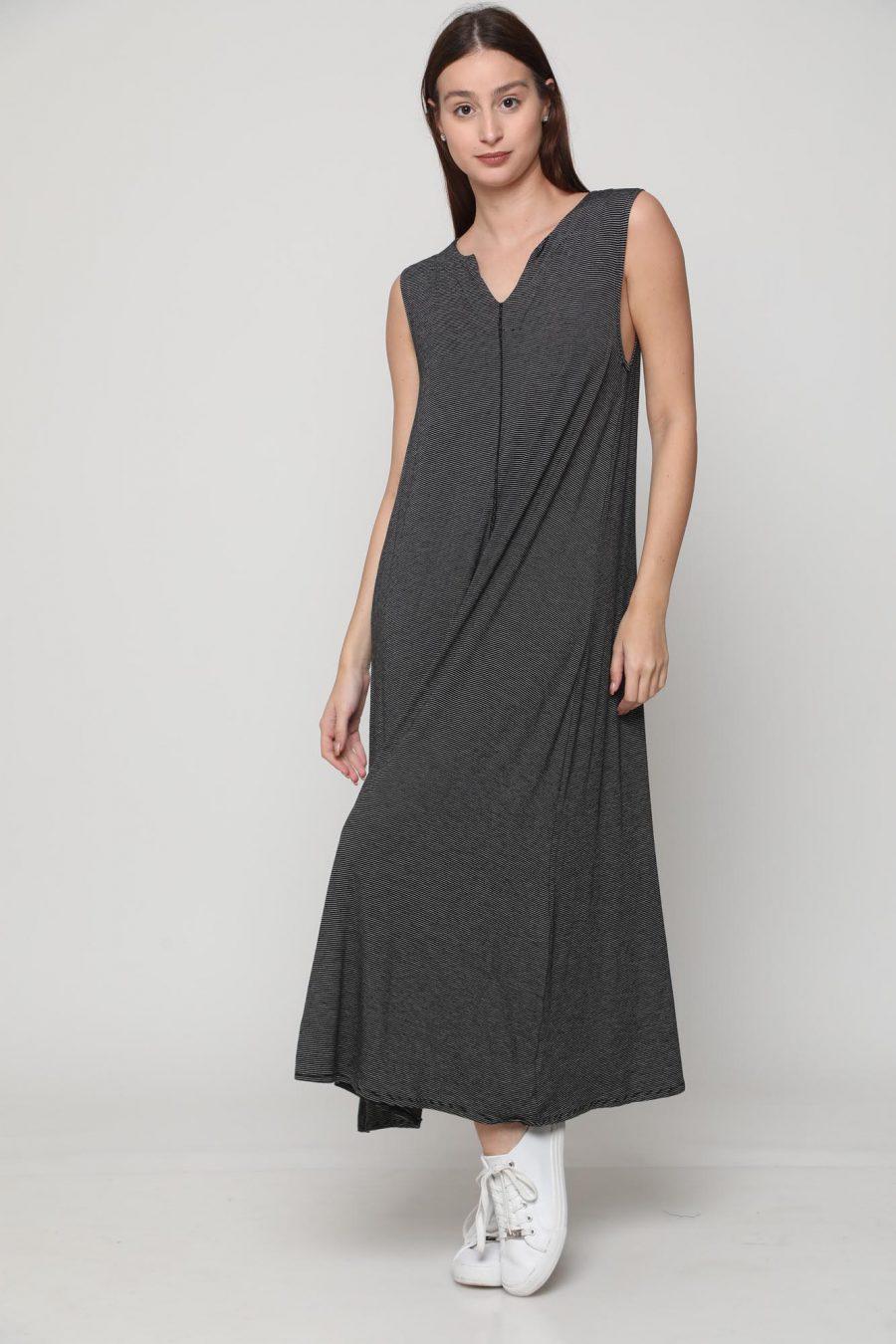 שמלה מונקו שחור