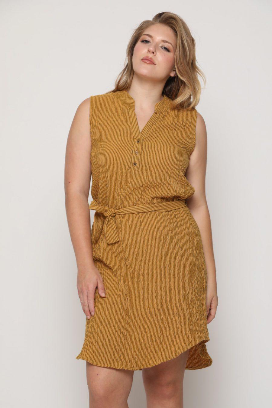 שמלה מישל חרדל
