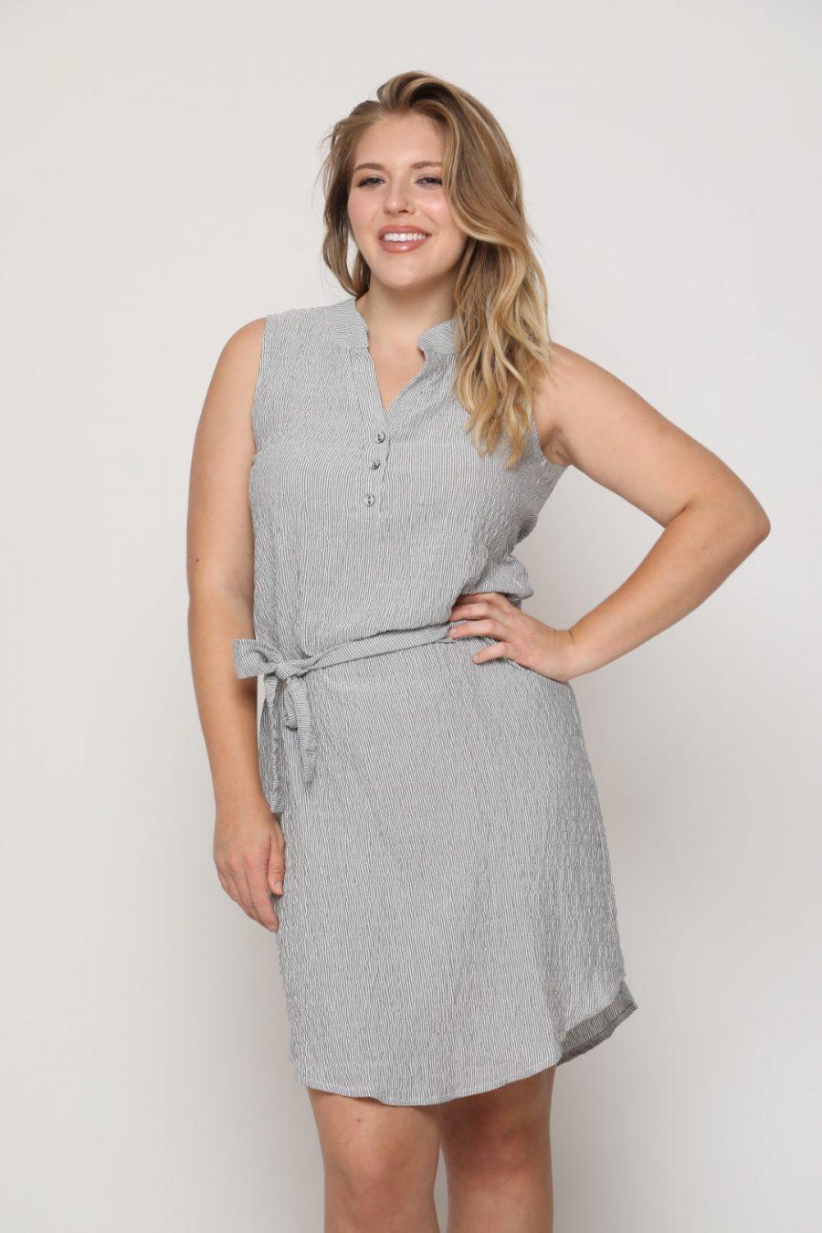 שמלה מישל לבן