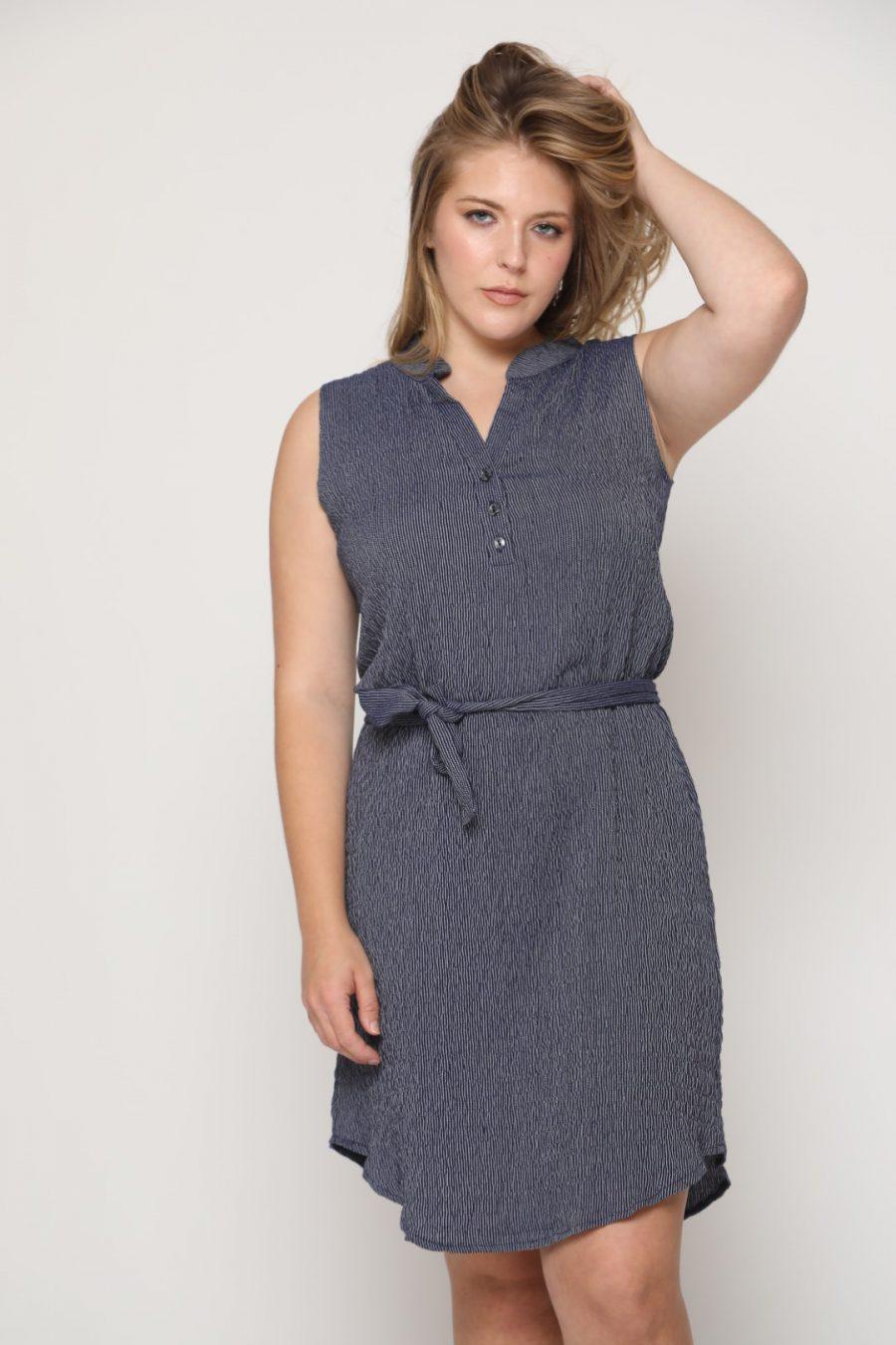 שמלה מישל כחול
