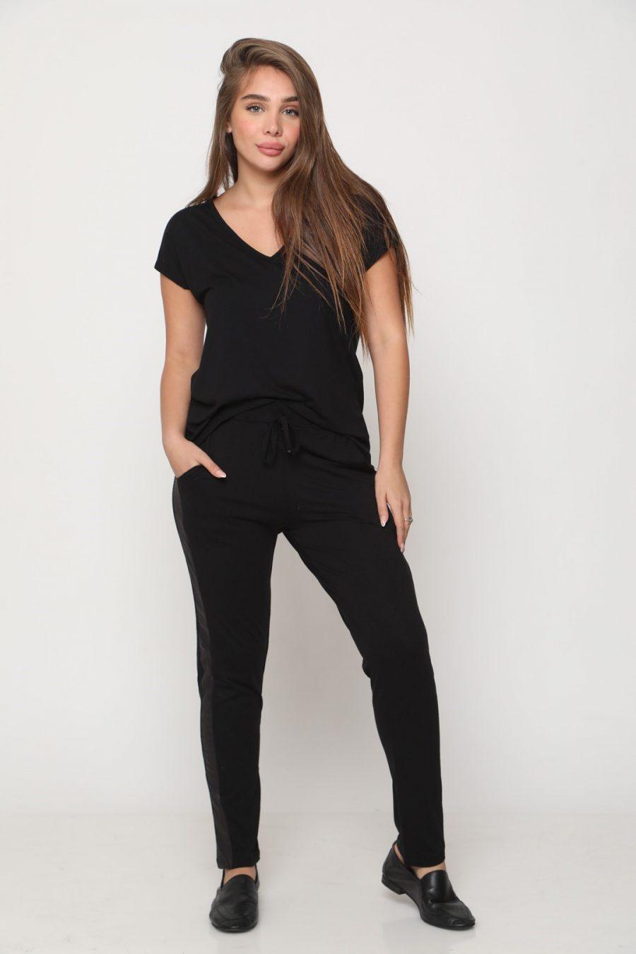חליפה מנהטן שחורה
