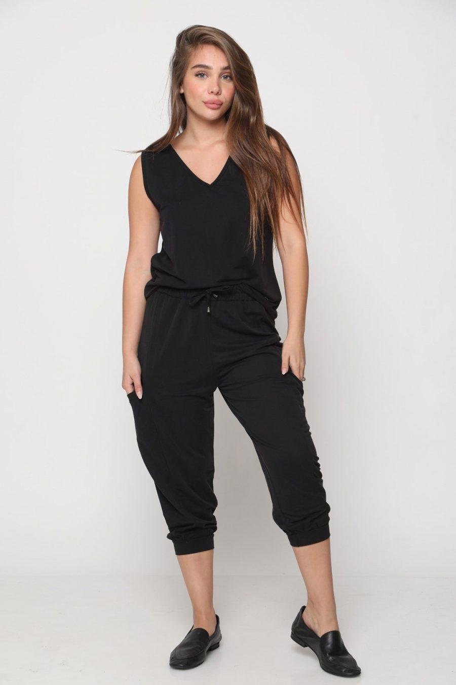 חליפה מיאמי שחור