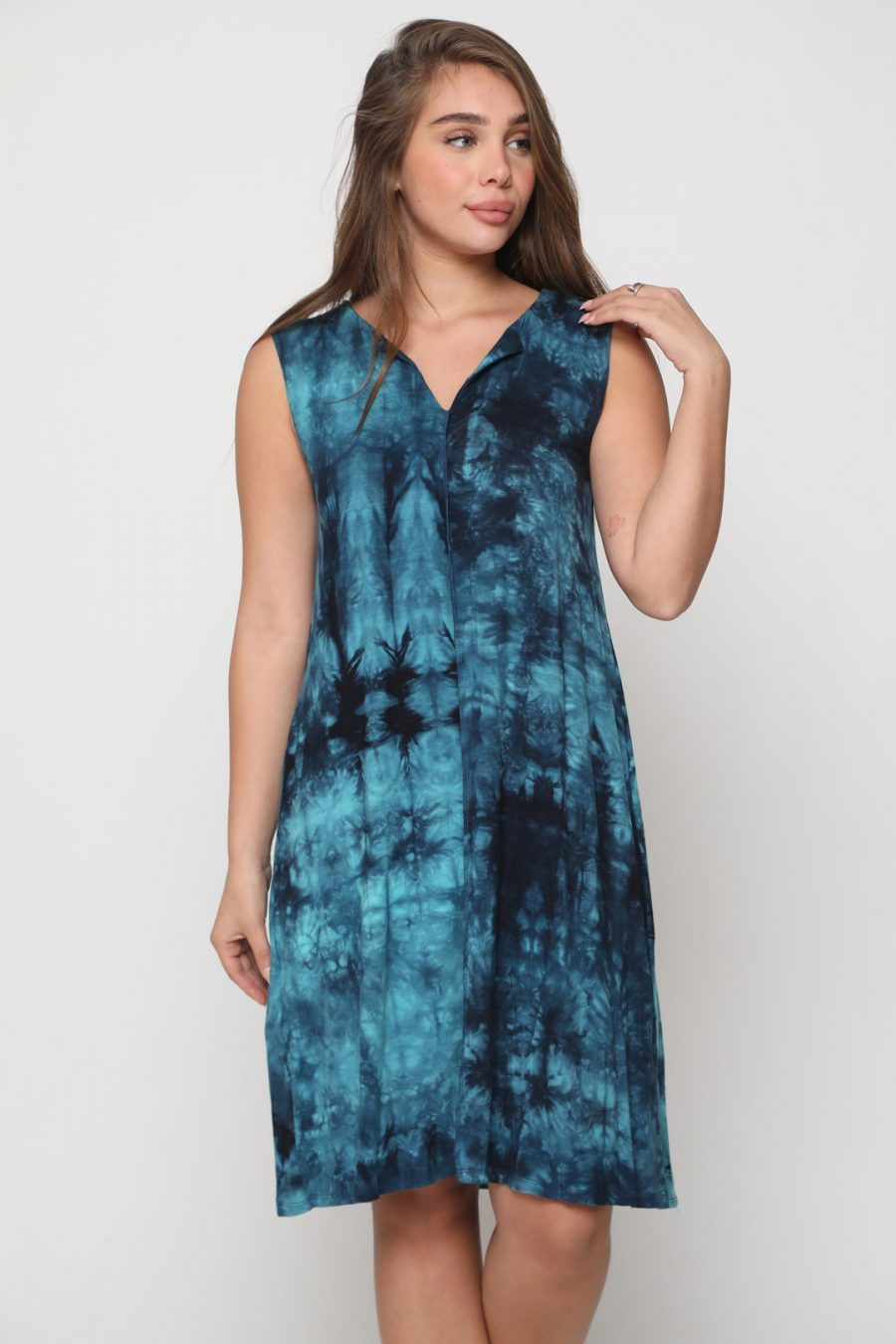 שמלה טקסס כחול רויאל
