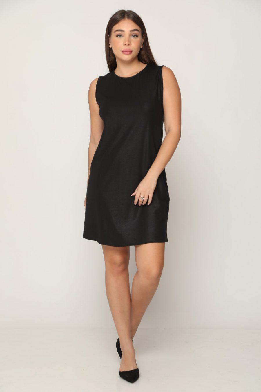 שמלה קולר Black
