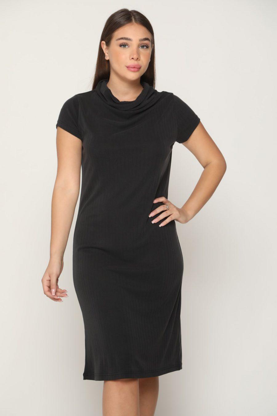שמלה אורלנדו שחור